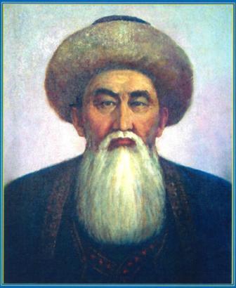 КАЗЫБЕК БИ КЕЛЬДИБЕКУЛЫ - главный бий Среднего жуза, советник казахского хана Тауке.